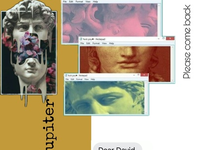 Provide you a fantastic vaporwave artwork