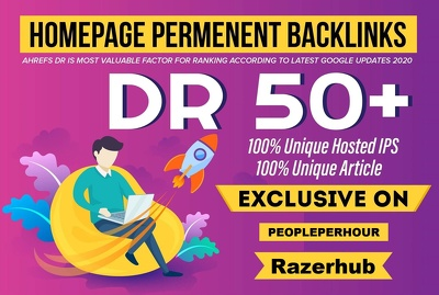 Build 10 Homepage PBN Backlinks Dr50 Plus