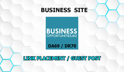 Link placement or guest post on Business-opportunities.biz DA69