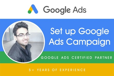 Help you in professionally set up google ads campaigns