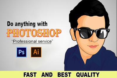 Professional graphic design photoshop, illustrator