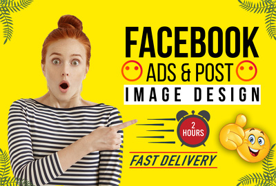 Design facebook ads, social media banner, instagram post in 3 ho
