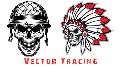 Convert jpeg logo to vector tracing illustrator