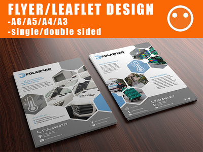 Design an eye-catching flyer/leaflet