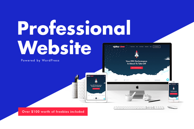 Design and Develop a Pro Website For Your Business | WordPress