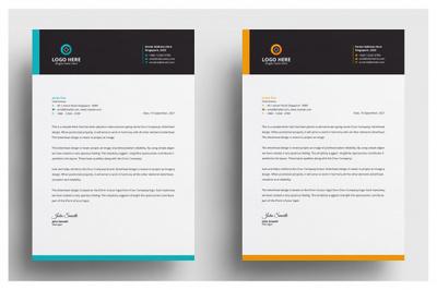 Design a professional Letterhead design (Unlimited Revisions)