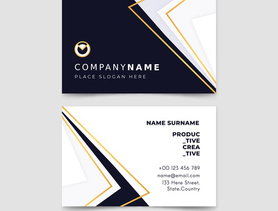 Create professional business cards design 50 sample Available