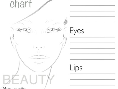 Create face chart