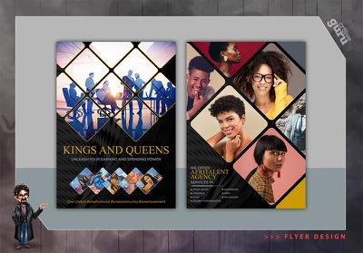 Design your promotional Flyer/poster or pamphlet.