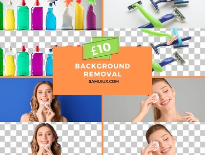 Cut out images background