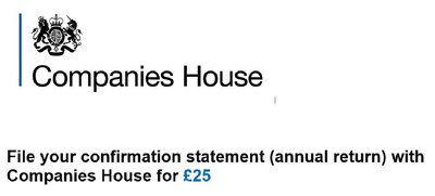 File companies house confirmation statement