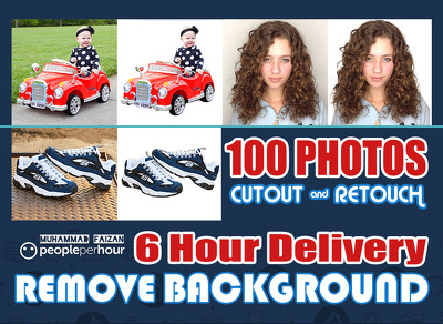 Remove Background and Retouch Your 15 Photos