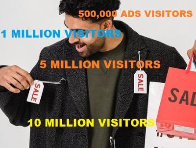 Viral Marketing Adverts Campaign 1 Million Visitors USA UK
