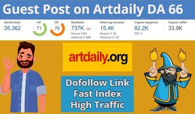 Guest post on Artdaily DA 66 Blog
