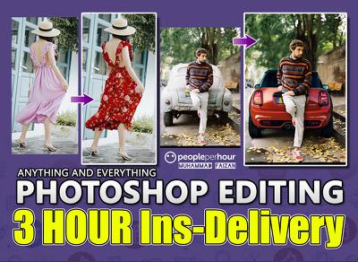 Do Fast Photoshop Editing Professionally