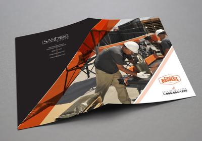 Design unique and professional brochure