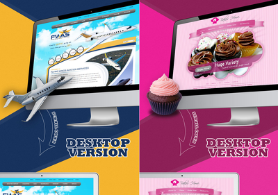 Design Homepage / Landing Page + Free Responsive HTML