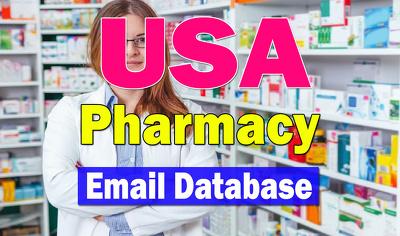 USA Pharmacy 2K Email Database