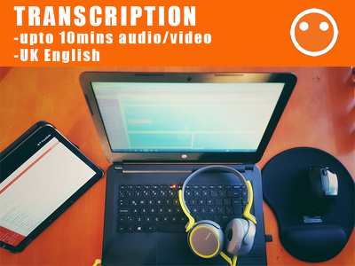 Transcribe up to 10mins of audio/video (English)