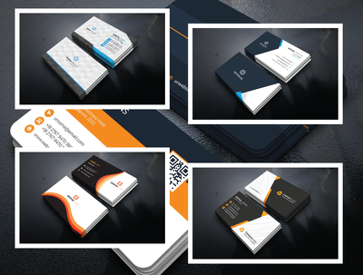 Design a professional custom business card that looks amazing