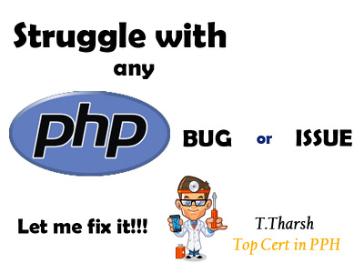 Fix any PHP issue or bug
