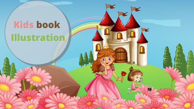 Create illustrations and cartoons for kids storybook