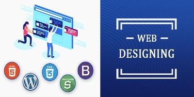 Design 6 page website
