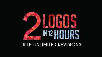 Design 2 Logos In 12 Hours with Free Revisions + Business card