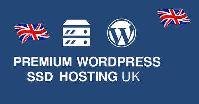 Provide 12 month Premium SSD UK Web Hosting