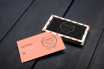 Design a professional double sided business cards