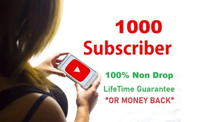 Add 1000 Real Subscribers to Your YouTube Channel
