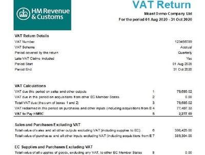 Do VAT returns on Xero/Sage or QuickBooks