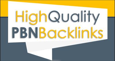 Build 10 high PA DA TF CF home page PBN dofollow backlinks