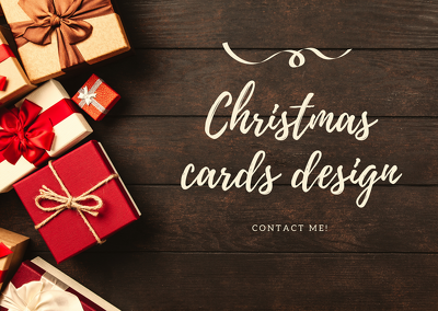 Design the most beautiful christmas card