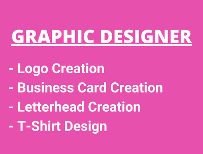 Create a logo, business card and letterhead for you
