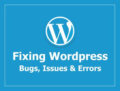 Fix wordpress or woocommerce  issue