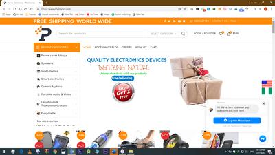 Create ebay,aliexpress or amazon dropshipping website