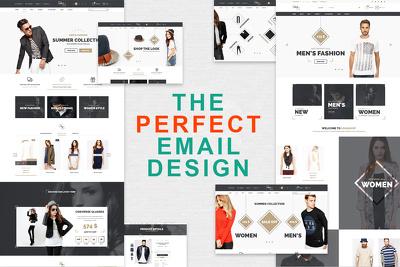 Design a Stunning HTML Email Campaign for Mailchimp or Klaviyo
