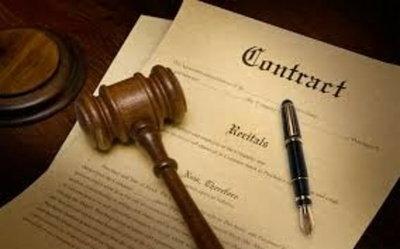 Draft a professional legal contract
