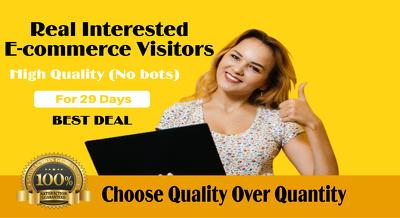 Promote your etsy ebay amazon shopify store products to USA /UK