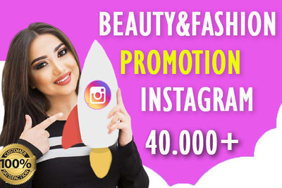 Promote product or page on my Beauty & Fashion Instagram page
