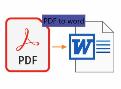 Convert 15 pages PDF to word