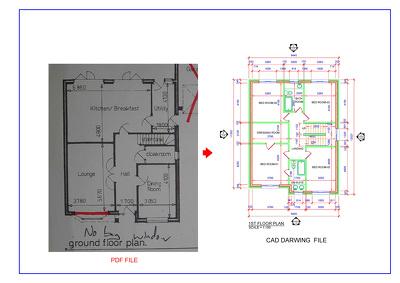 Create PDF file to AutoCAD drawings