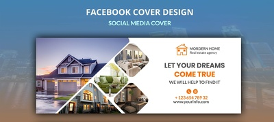 Design cover photo for your Social Media page