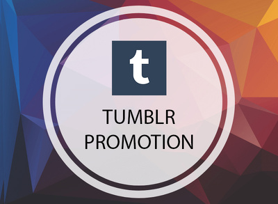 Promote your Tumblr Profile to our Communities  500 Followers