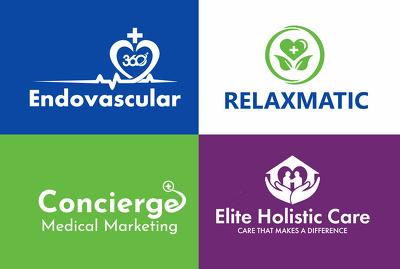 Do medical, healthcare and dental custom logo design