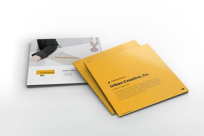 Design a very impressive and professional company profile