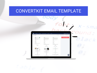 Design your ConvertKit Email Template