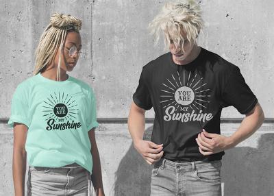 Design a custom T-shirt design
