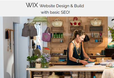 Design and Build your WIX website with SEO